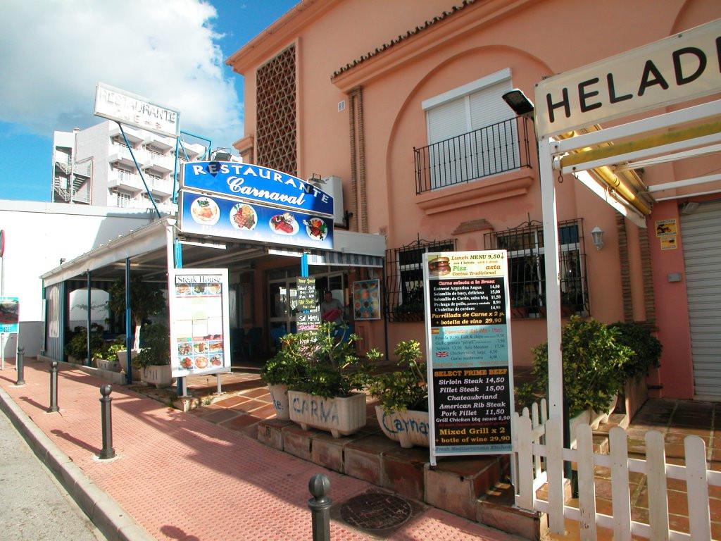 Restaurant, Benalmadena Costa, Costa del Sol. Built 112 m², Terrace 100 m².  Setting : Beachside, Cl,Spain