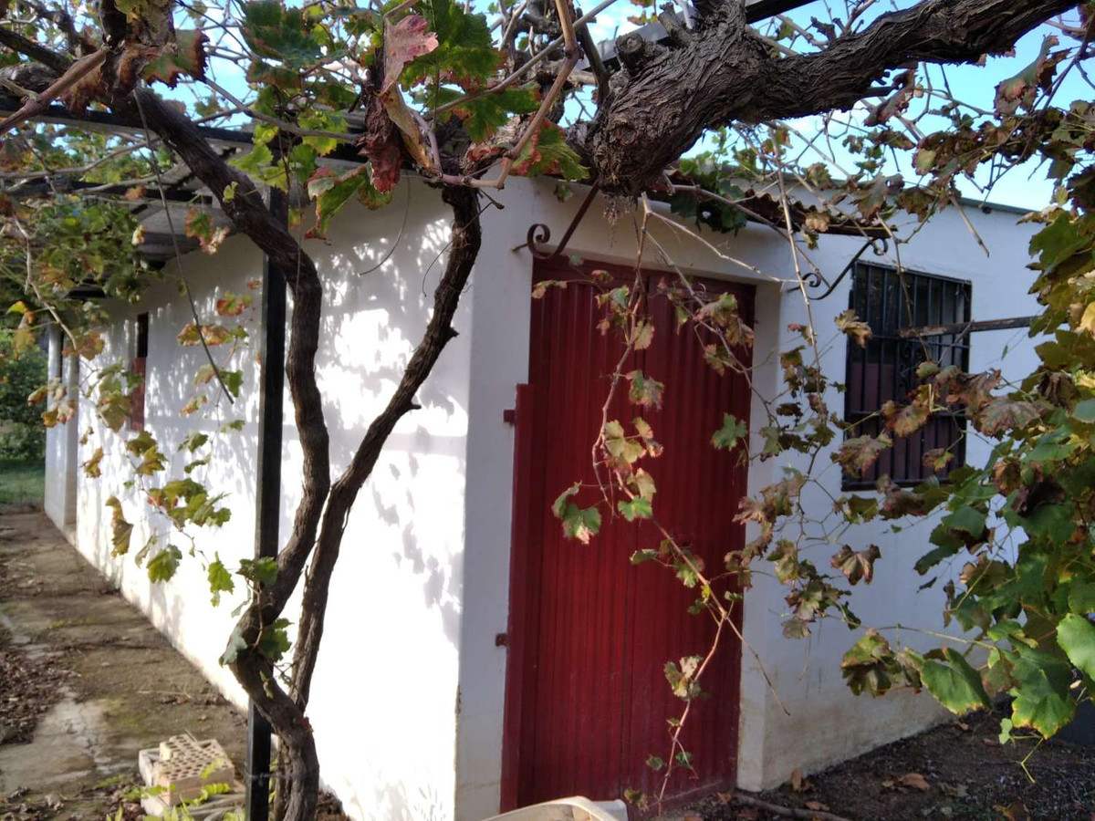 3064-V  For sale wonderful, flat and fenced plot of 6920m2 with implement house of 55m2. It has own ,Spain