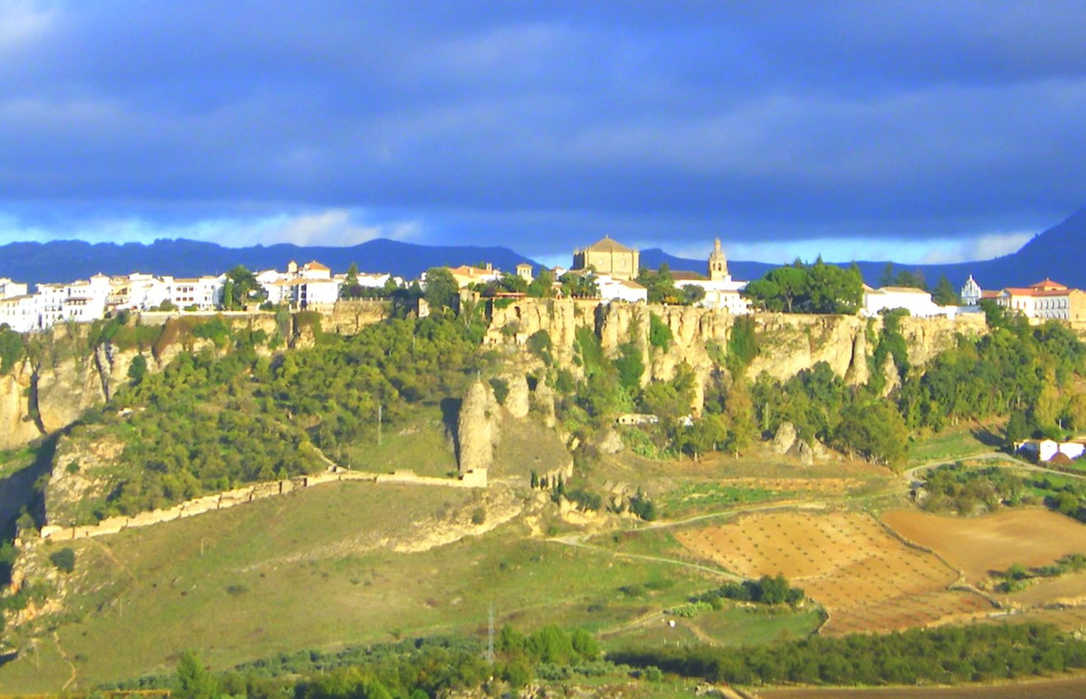 Hotel for sale in Ronda a bohemian, alternative, funky,… hotel. From the front of the hotel  there i,Spain