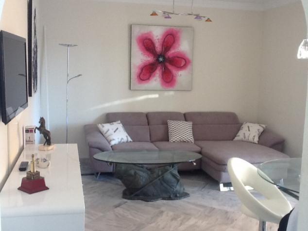 Penthouse in Urbanization La Dama de Noche, living room, 1+1  bedrooms, 1 bathroom, sunroom with Lum,Spain