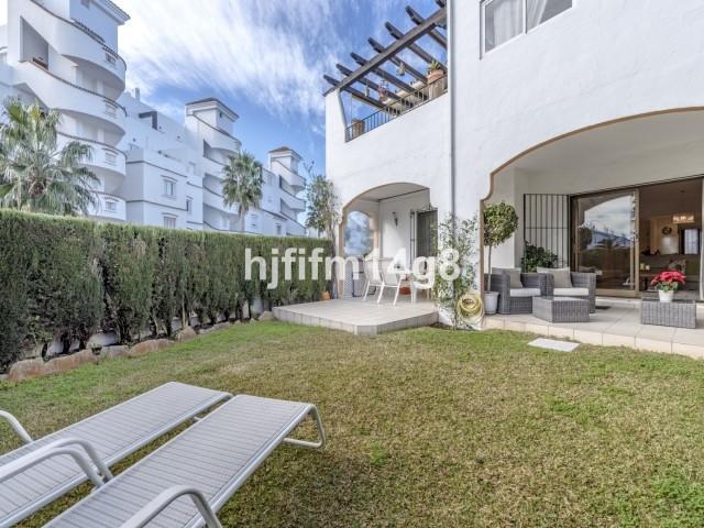 Apartment Ground Floor Nueva Andalucía Málaga Costa del Sol R3349714