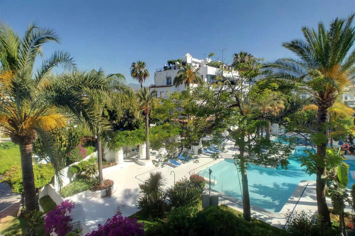A recently refurbished to a high standard apartment in the heart of Puerto Banus.  This property off,Spain