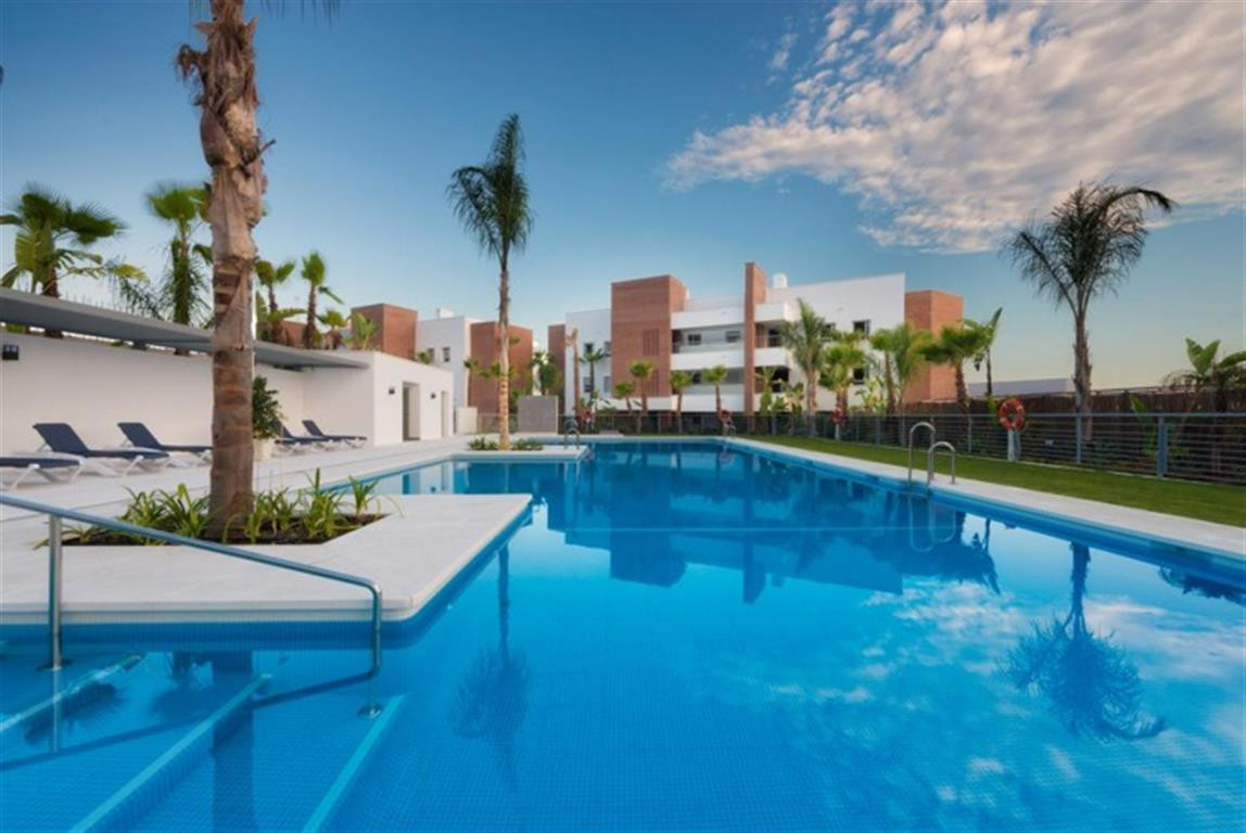 Stunning modern contemporary style apartment situated in the prestigious area of Los Arqueros, Benah,Spain