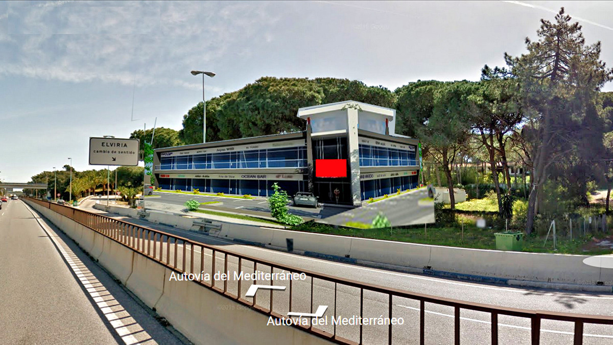Restaurant-Hotel-Comercial Centre, Elviria, Costa del Sol. Built 831 m2 Terrace 300 m2 Plot 1501 m2.,Spain