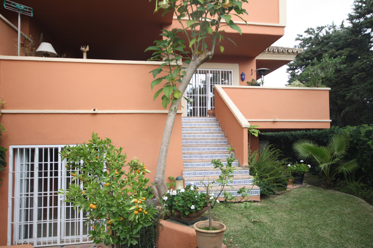 OPPOSITE PUERTO BANUS - Desirable four bedroom garden duplex apartment in a gated complex in Nueva A,Spain