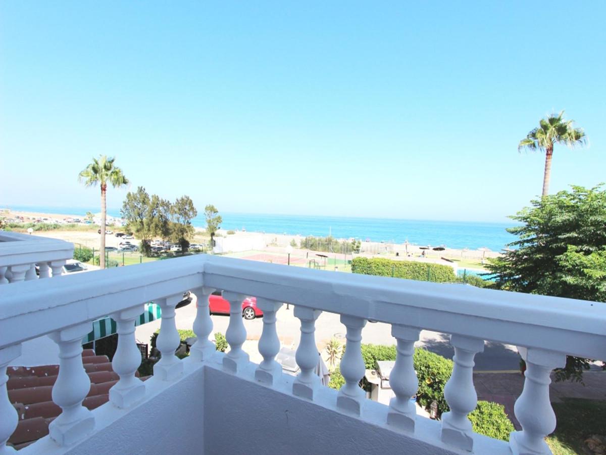 Beachfront Townhouse in Aldea Beach, Manilva, Malaga, Costa del Sol, Spain  This townhouse is locate,Spain