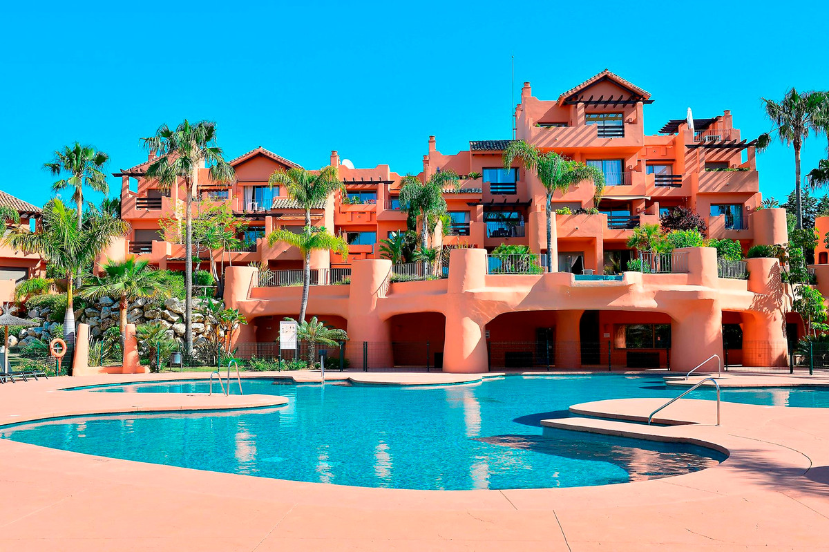 Two bedroom apartment for sale in Sotoserena Estepona, a coveted community with two pools, gym and h,Spain