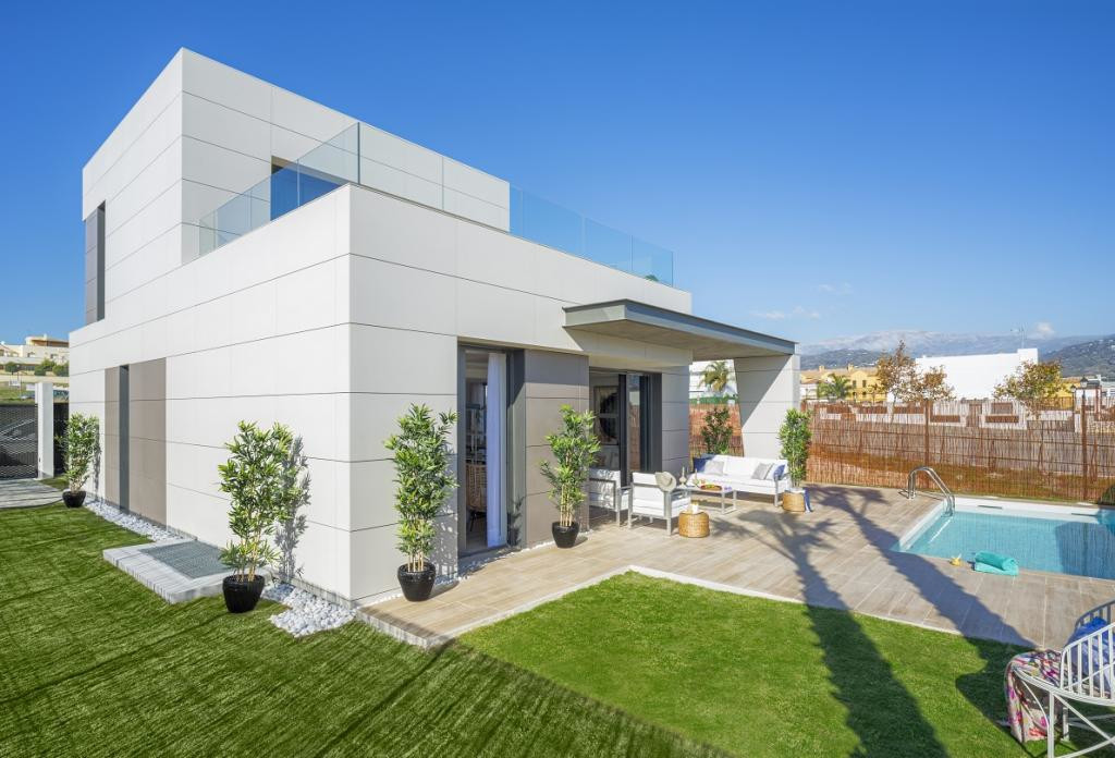 Modern style villas built on 350 m² independent plots and with a modern design and a high energy eff,Spain