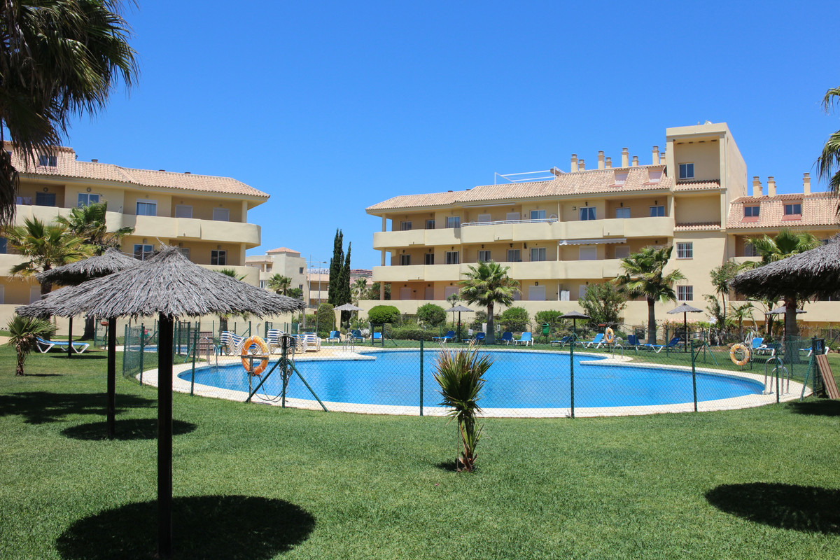 The perfect holiday apartment!  A corner first floor apartment walking in though it is on the ground,Spain