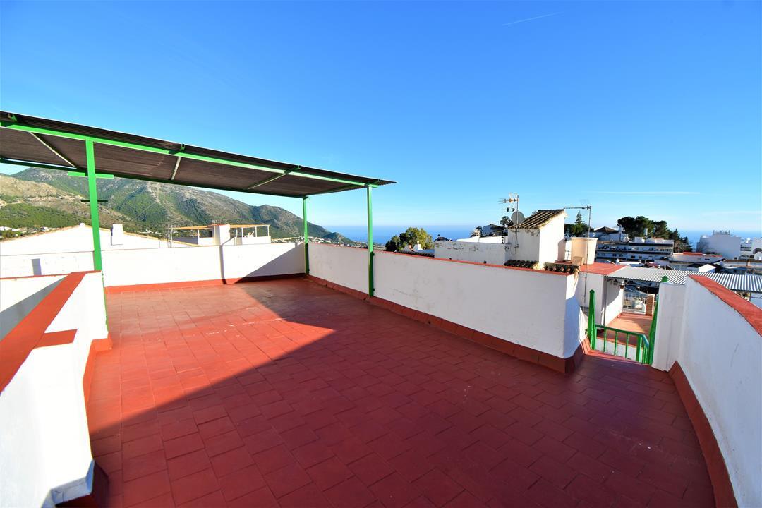 Townhouse, Mijas, Costa del Sol. 3 Bedrooms, 1 Bathroom, Built 121 m², Terrace 50 m².  Setting : Com,Spain