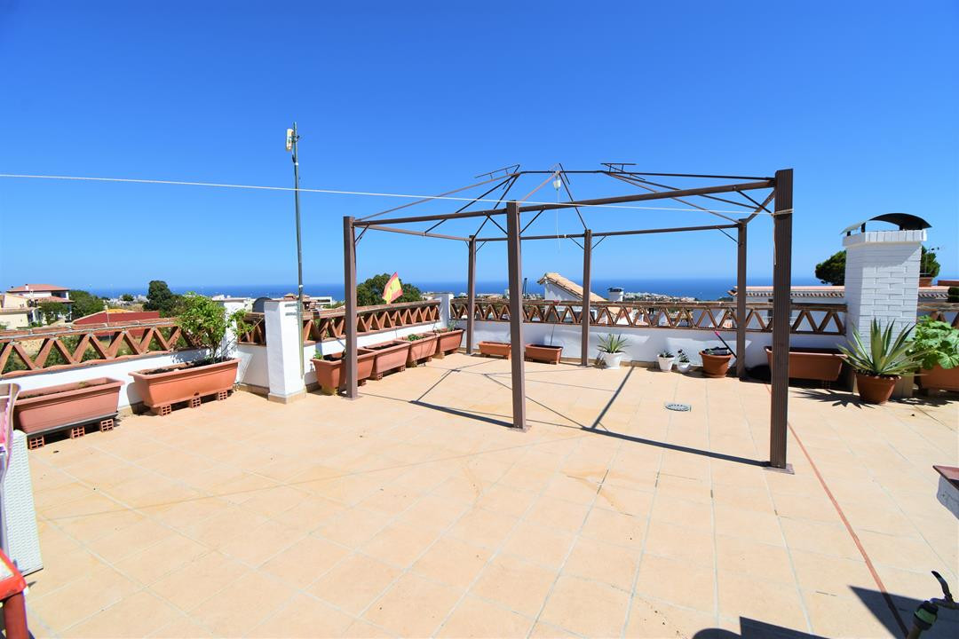 Townhouse, Benalmadena Pueblo, Costa del Sol. 4 Bedrooms, 2.5 Bathrooms, Built 236 m², Terrace 20 m²,Spain