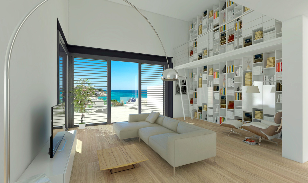 Exceptional, Sea View, Modern, New Build Villa a Short Walk to Nearest Cove in El Campello, Costa Bl,Spain