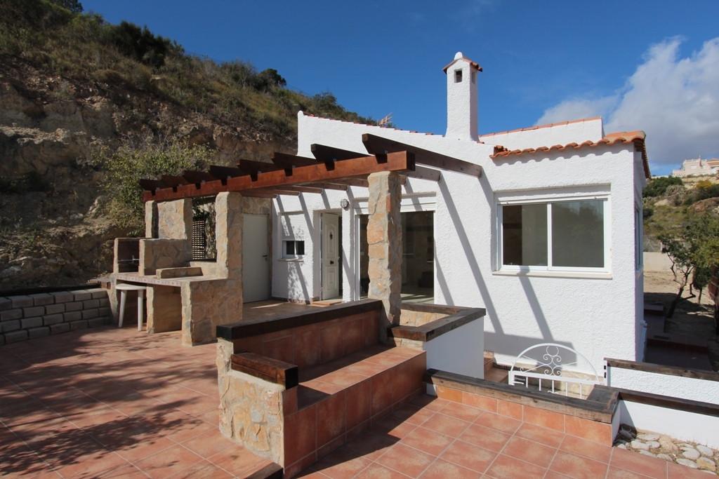 Charming, Sea View, Newly refurbished, Detached Villa, El Campello, Costa Blanca. 2 Bedrooms, 2 Bath,Spain