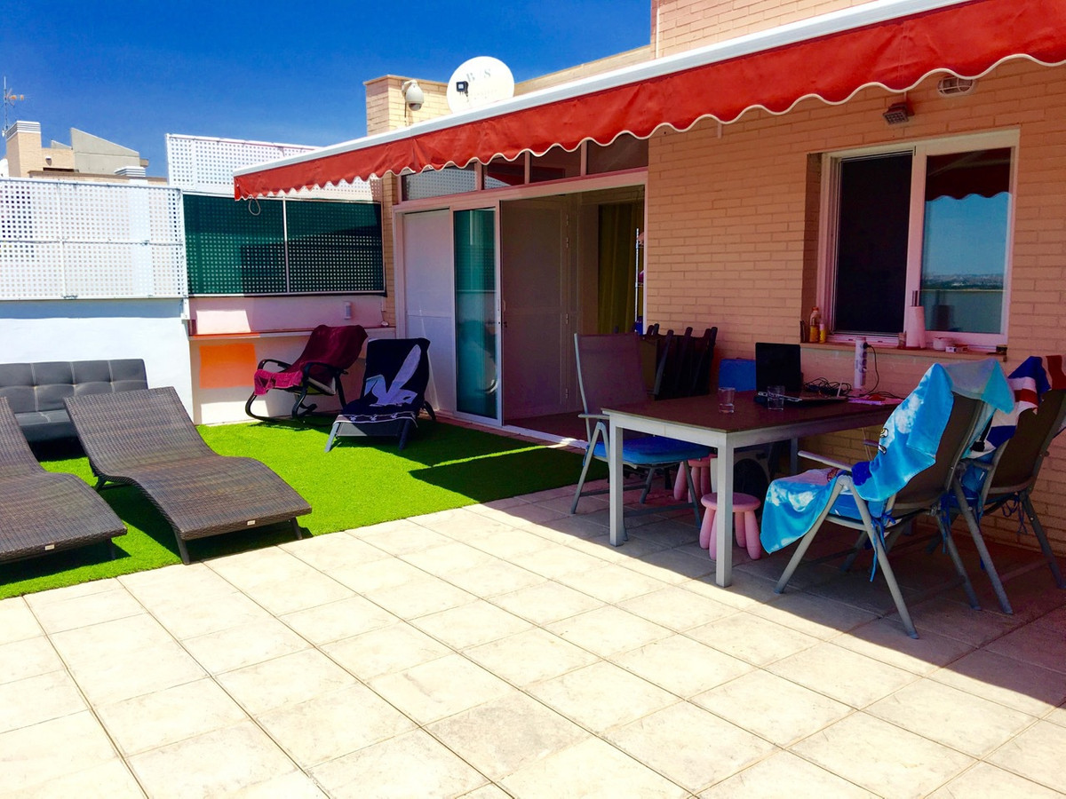 Penthouse, 3 bedroom, south-facing with 50m2 terrace all on one level, in El Campello with sea view.,Spain