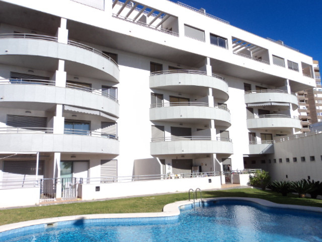 Close Sea View, Middle Floor Apartment, El Campello, Costa Blanca. 2 Bedrooms, 2 Bathrooms, Built 70,Spain