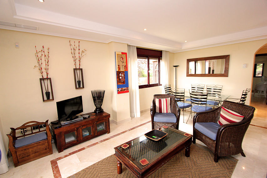 Wonderful bright large corner two bedroom, two bathroom corner apartment with a lovely wrap round ga,Spain