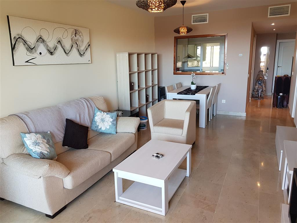 Duquesa Village, Middle floor apartment with sea views. Middle Floor Apartment, La Duquesa, Costa de,Spain