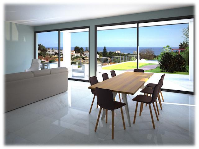 Terreno en venta en Calahonda, con hermosas vistas al mar y montanas para la construccion de una vil,Spain