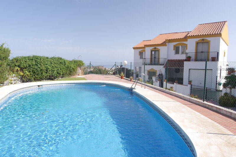 Fabulous townhouse in Pueblo Benalmadena with amazing sea views !!!!  The property is in perfect con,Spain