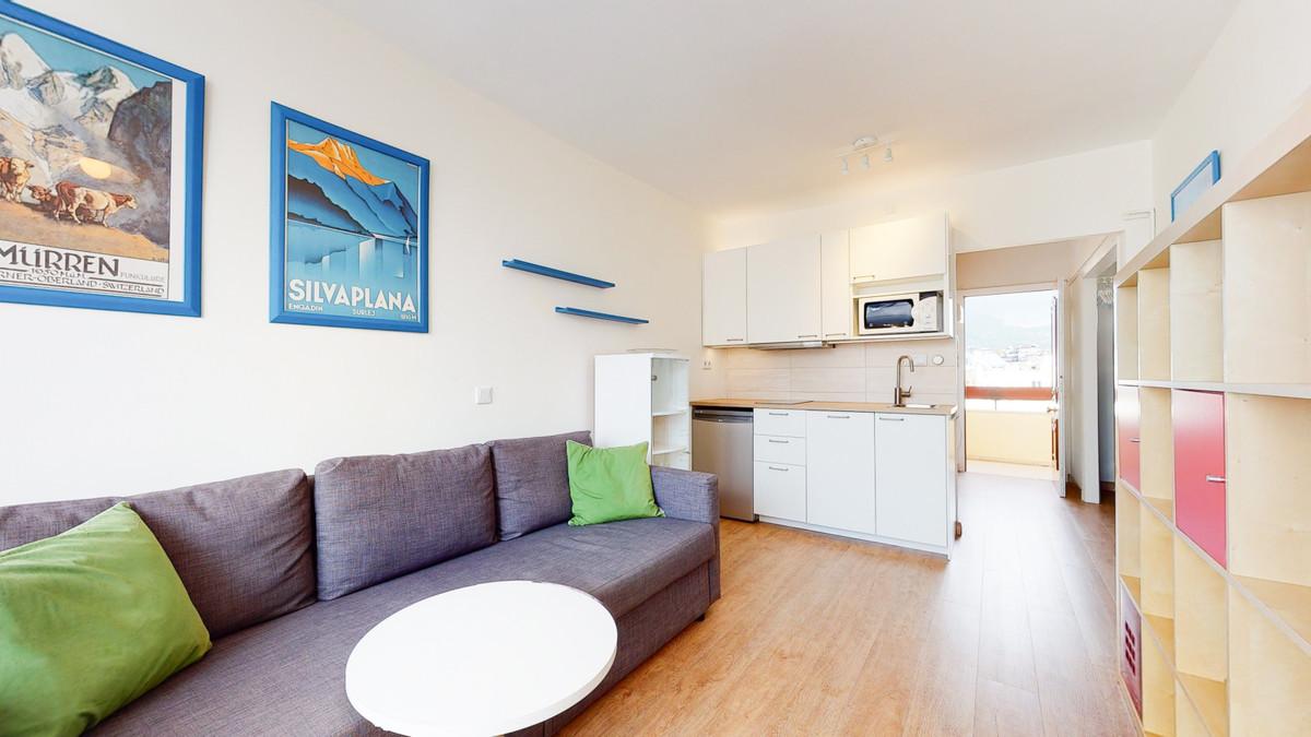 Top Floor Studio, Marbella, Costa del Sol. 1 Bedroom, 1 Bathroom, Built 35 m².  Setting : Beachfront,Spain