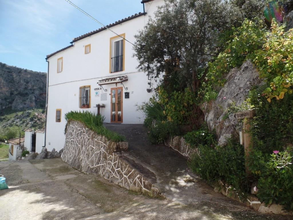 VILLA (B&B) FOR SALE NEAR RONDA,MALAGA     Charming villa in the white village of Montejaque in ,Spain