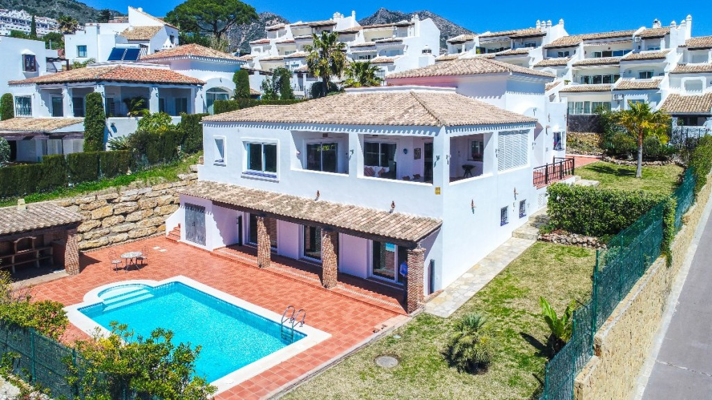 Villa for sale in Benalmadena Pueblo, Benalmadena, Malaga, Spain.  One of only 11 large detached Vil,Spain