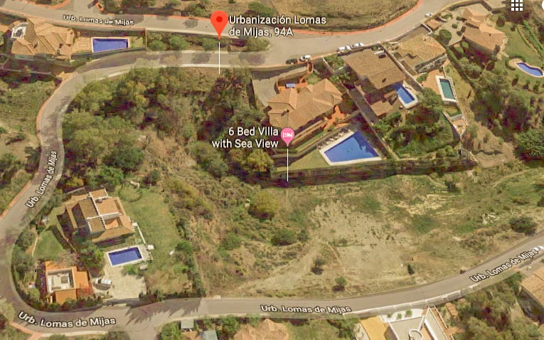 Opportunity!!  Urban plot with 1.128m2 of land to build a large Villa located in the exclusive Las L,Spain