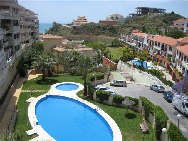 Middle Floor Apartment, Torrequebrada, Costa del Sol. 2 Bedrooms, 2 Bathrooms, Built 96 m².,Spain
