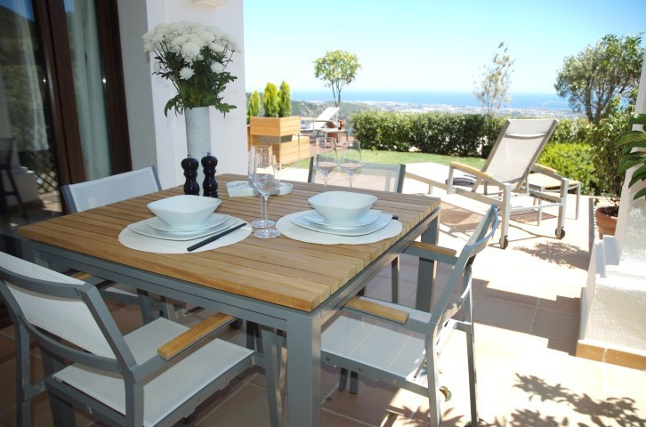 Villas with stunning views and spacious interior
