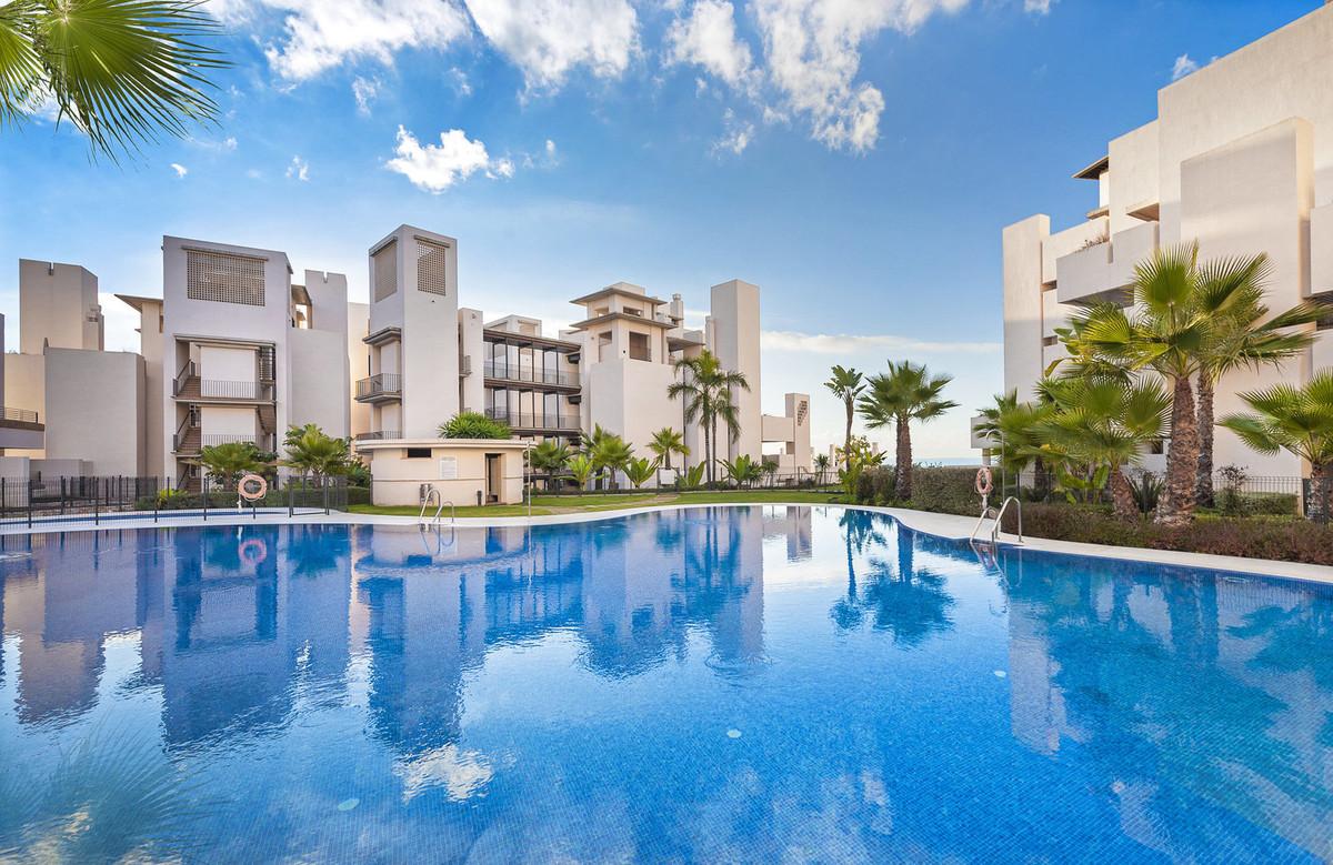 Luscious tropical gardens border the beach and the promenade neat to Estepona