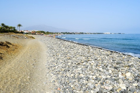 Between Marbella and Estepona, near the sea