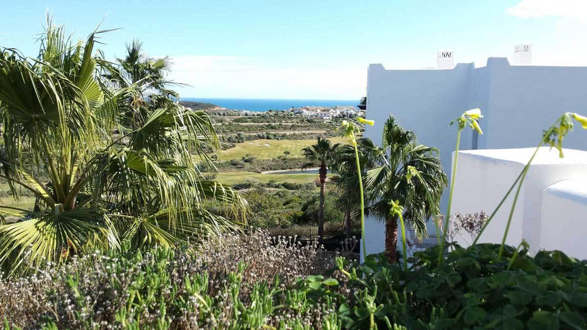 Gorgeous views of the Mediterranean, near Casares