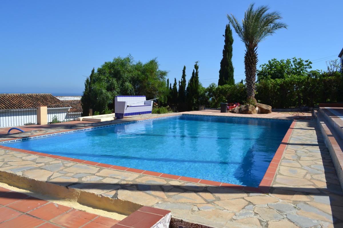 Stunning views from this Mediterranean villa