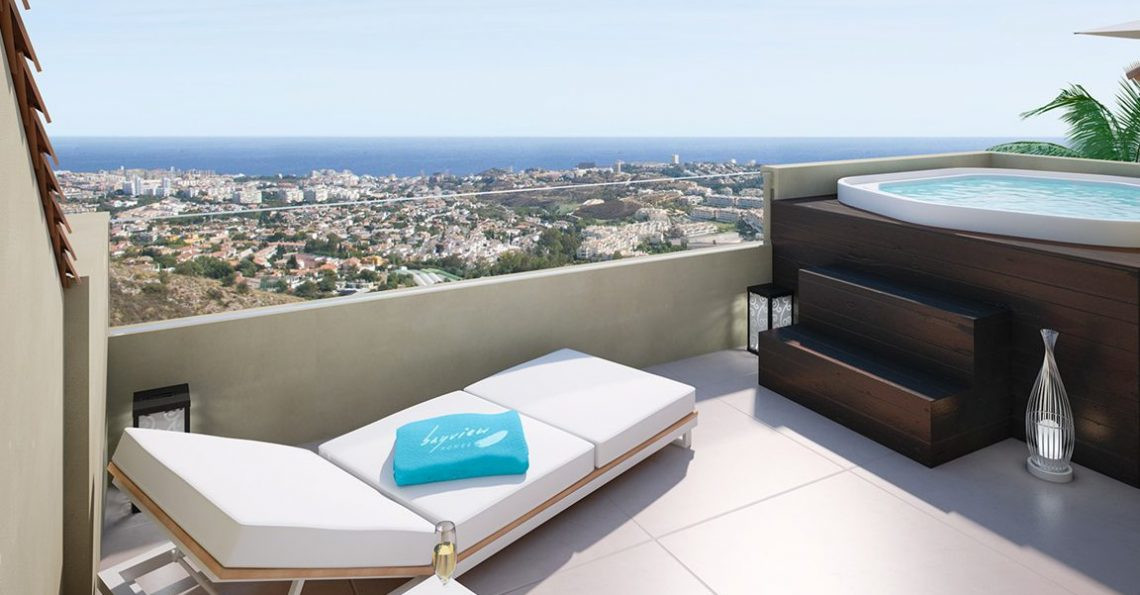 Spectacular views of the Costa del Sol!