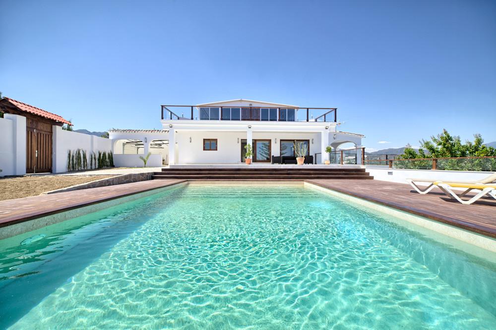 Panoramic sea views for this stylish villa