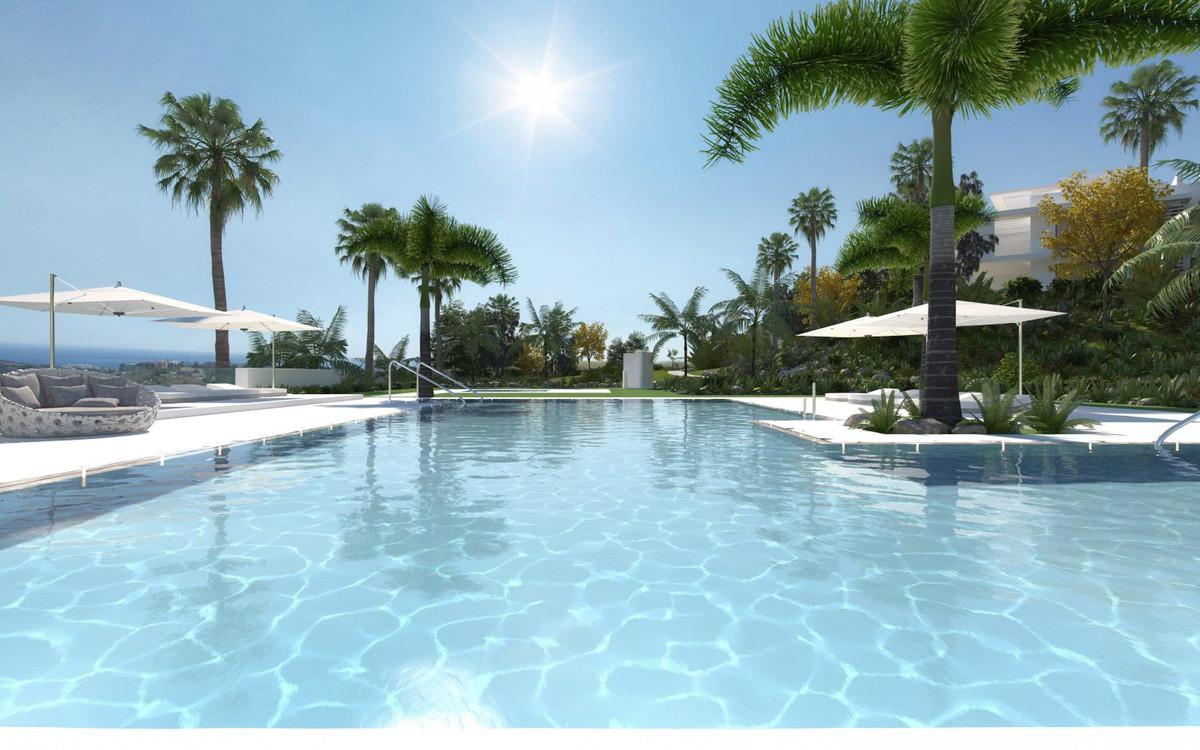 Exotic lagoon on the Costa Del Sol