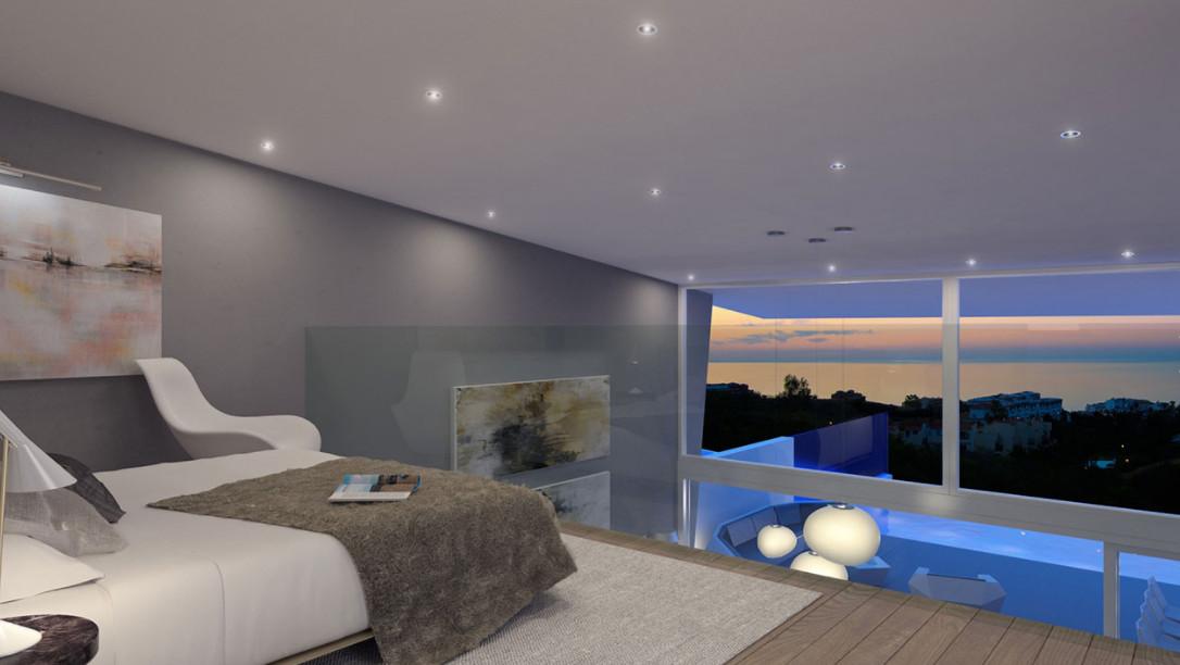 Unique design for detached villa in private resort