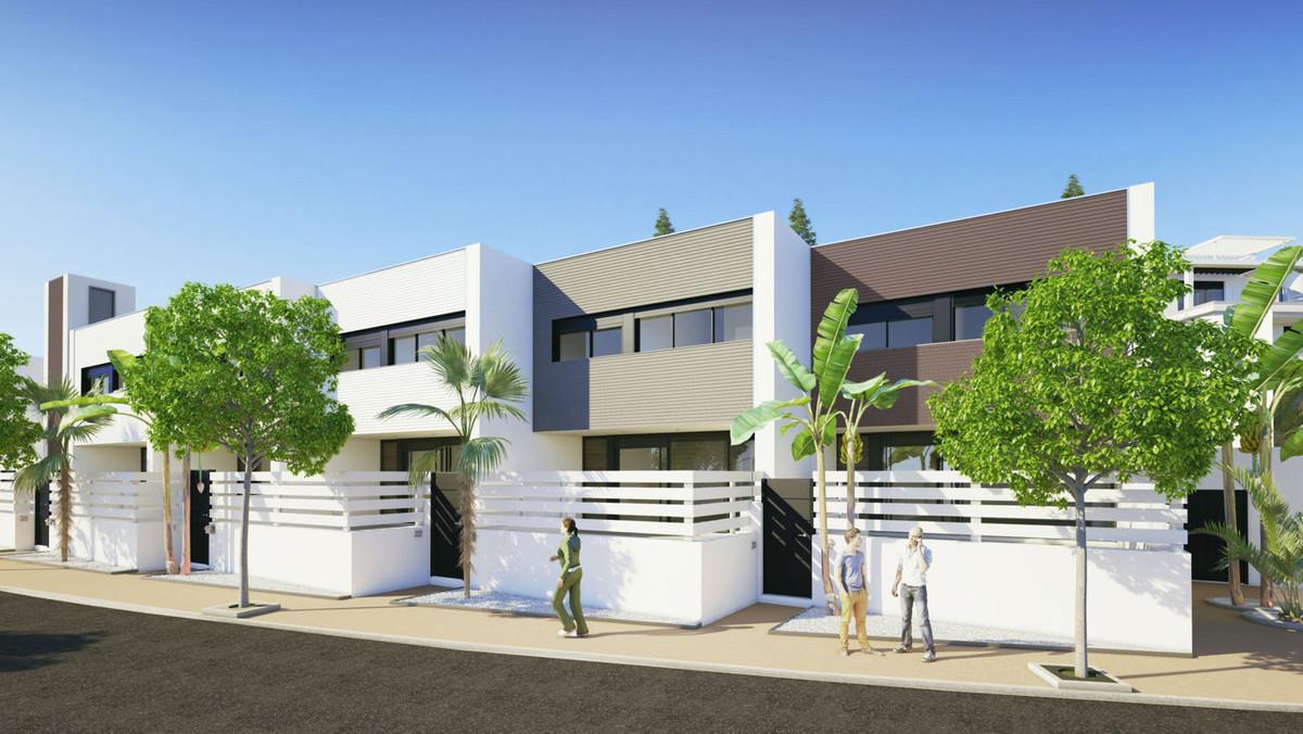 New development of townhouses on the doorstep of Cancelada