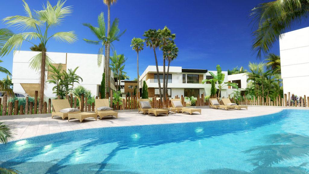 Close to the luxury marina of Puerto Banus