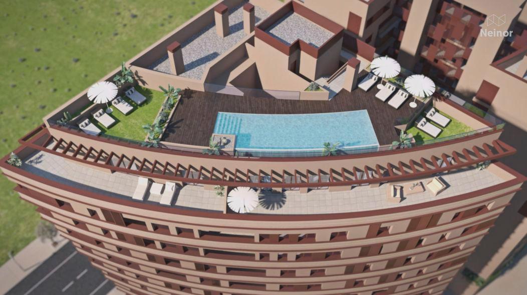 Fantastic investment opportunity : terrace, open views, solarium...