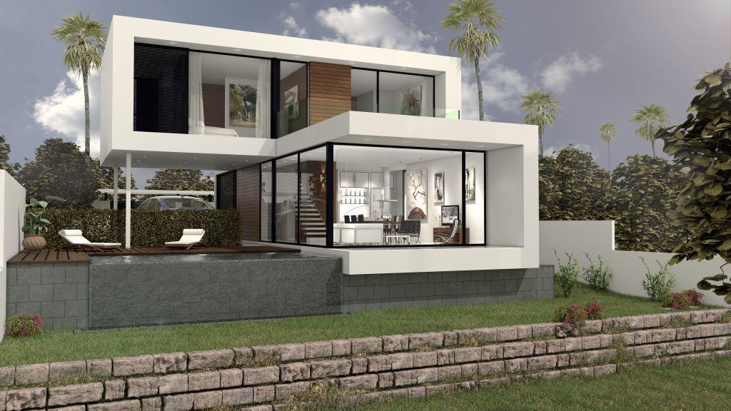 Stunning modern property built in prestigious area