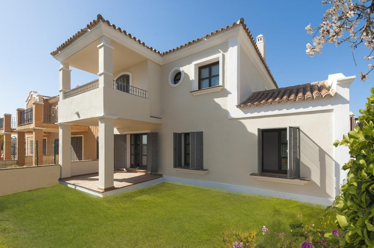 Elegant villas in gated community