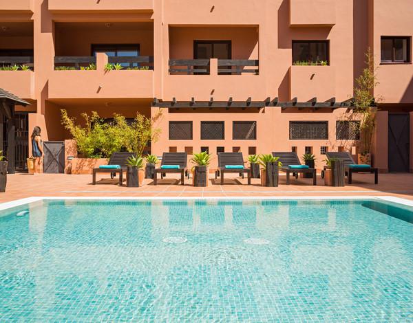 Spacious apartments with fabulous sea views