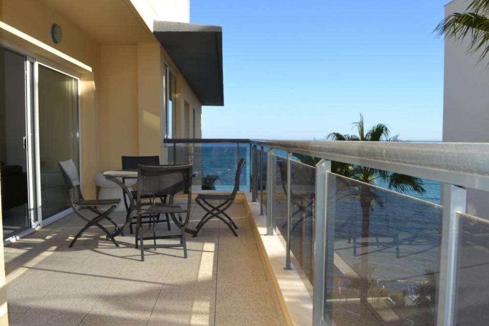 Fabulous sea views next to famous Playa del Cristo