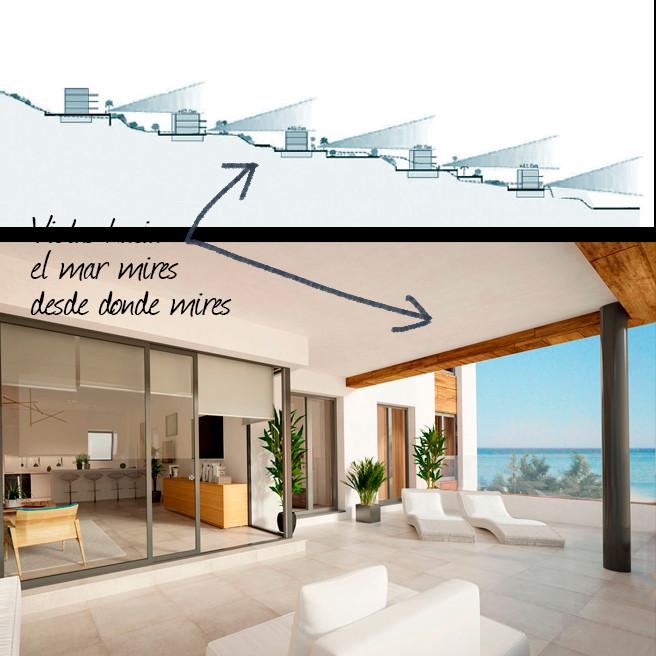 Latest properties from award winning developer, stunning sea views as standard!