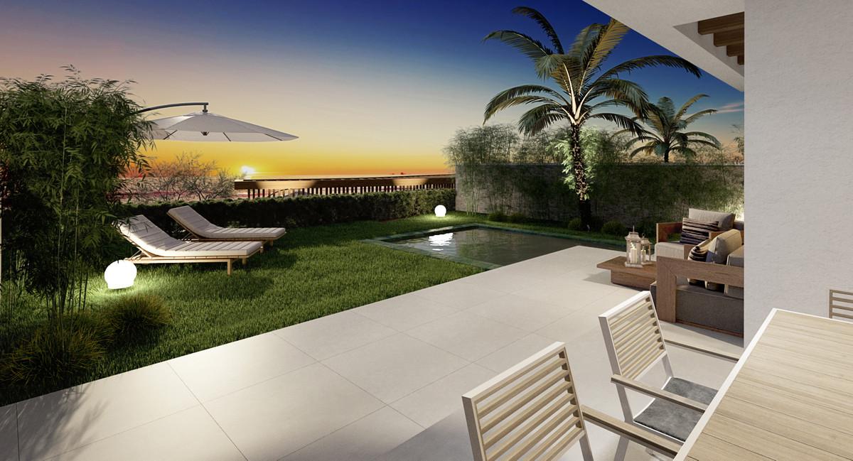 Stylish villa with panoramic views of the sea