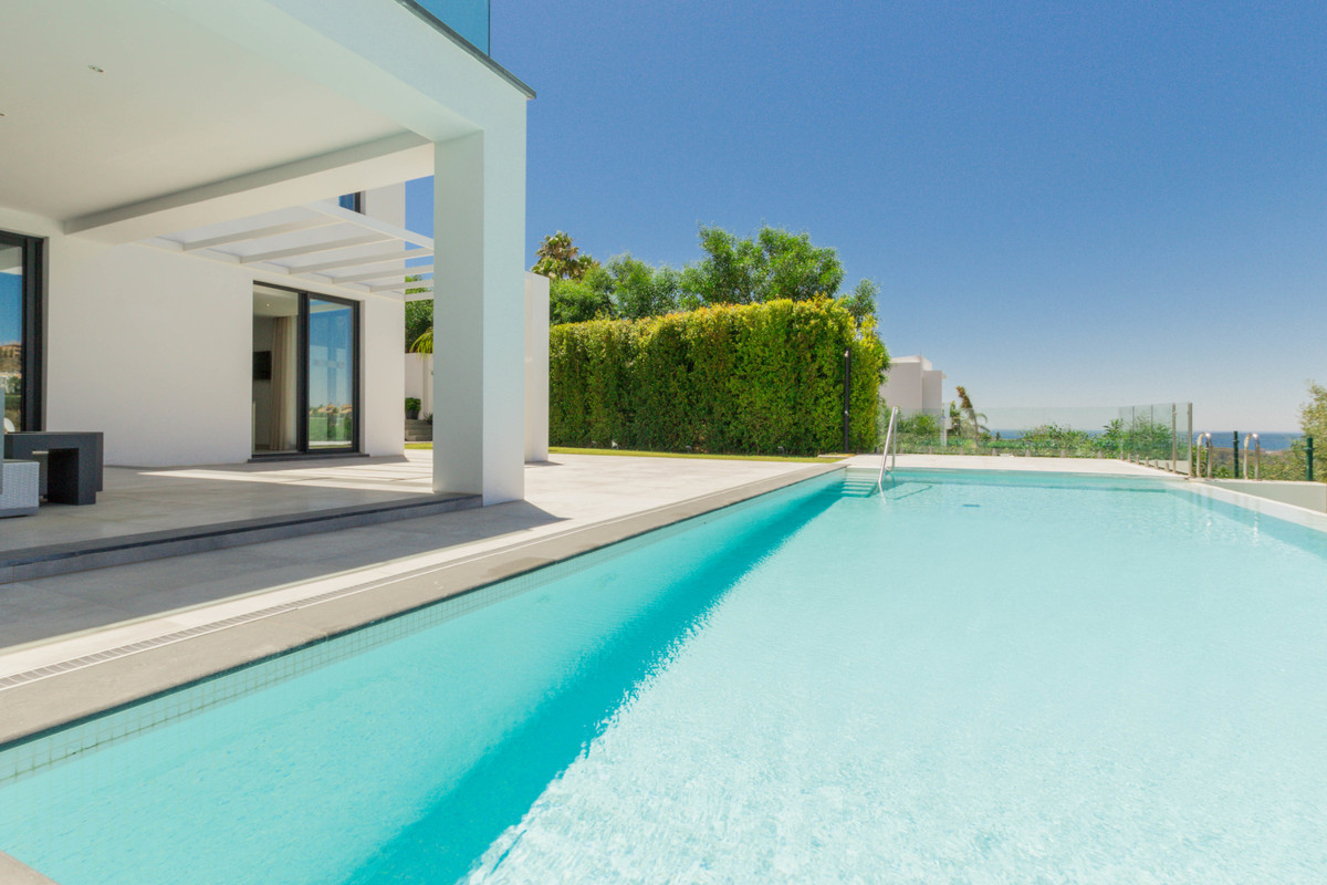 Recently completed, modern design villa with a naturally bright interior, private swimming pool and ,Spain