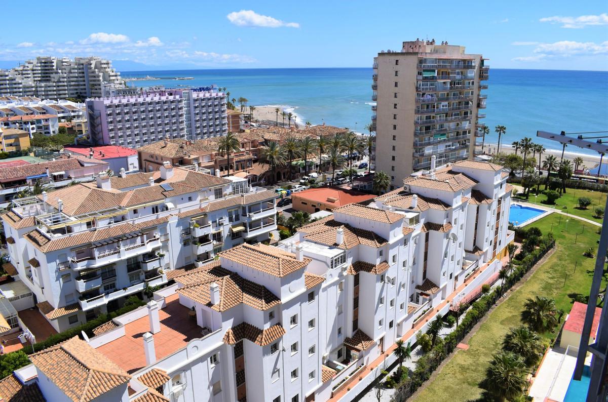 The studio: -30m2. -Southeast orientation. -Terrace. -Views to the sea. -11st floor. -Lift. -Pool an,Spain