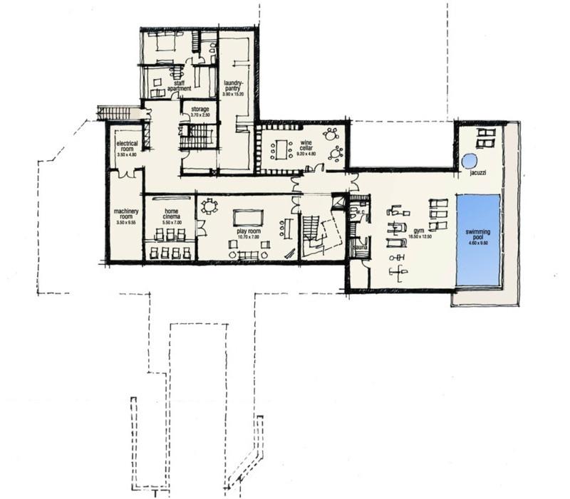 Villa Property For Sale In Selwo Spain Buy Ref Electrical Plan