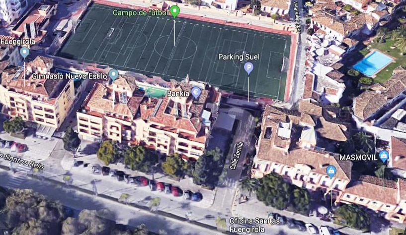 Parking space in the heart of Fuengirola in Aparcamientos Suel. Leasehold 35 years renewable. Dimens,Spain